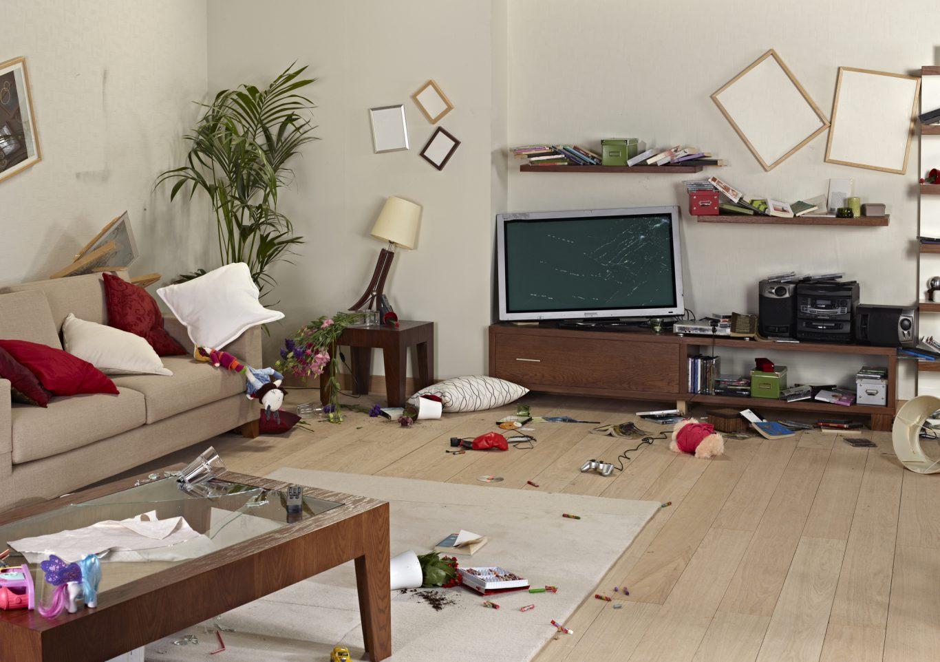catastrofes en el hogar