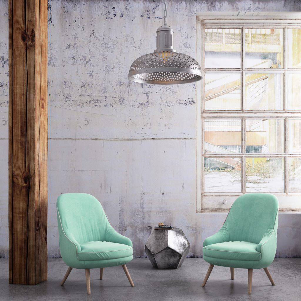 sillas con espaldares redondeados