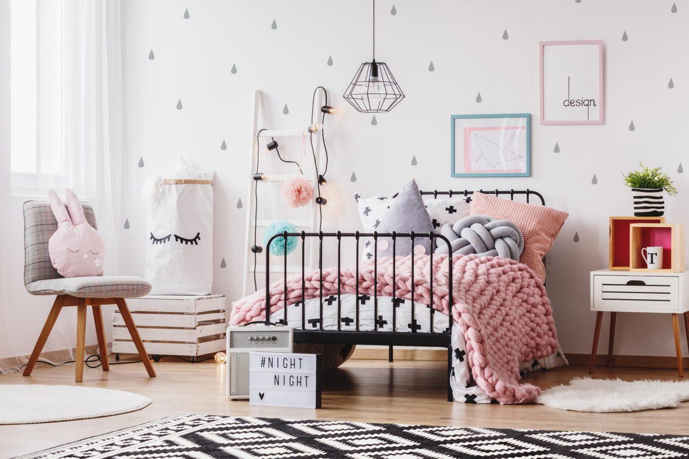 decoración para habitacion de niñas