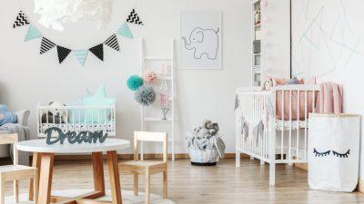 Decoración para habitación de bebés