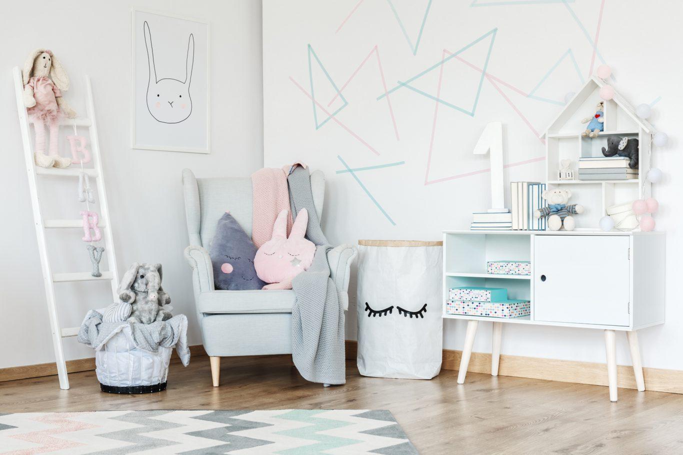 accesorio decorativos para habitación de bebés