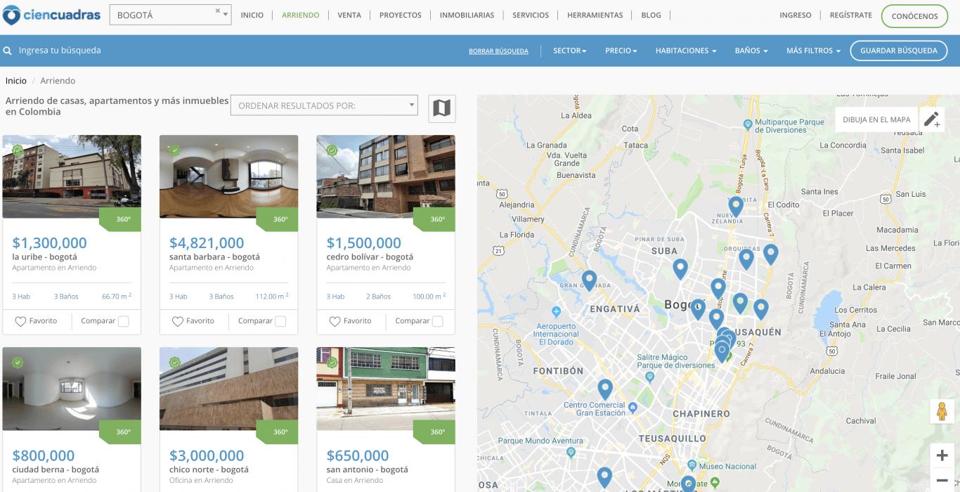 Apartamentos y casas en arriendo o venta