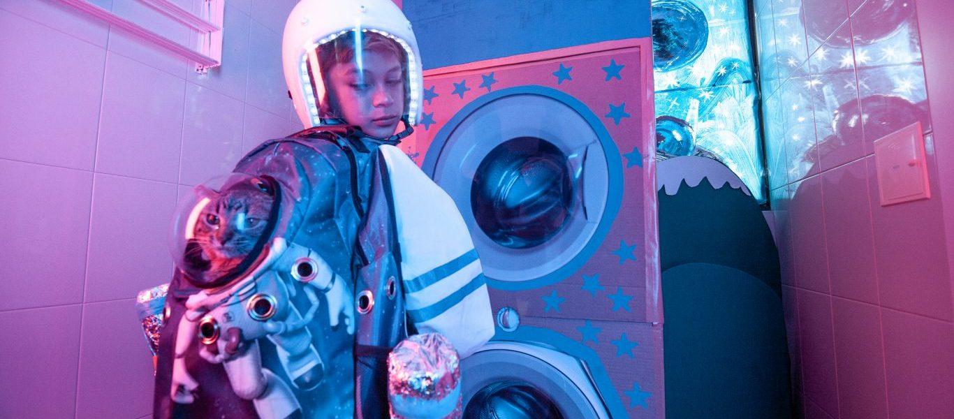 Astronauta va al espacio