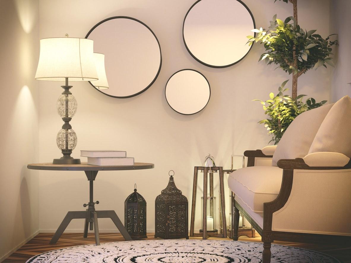 collage espejos