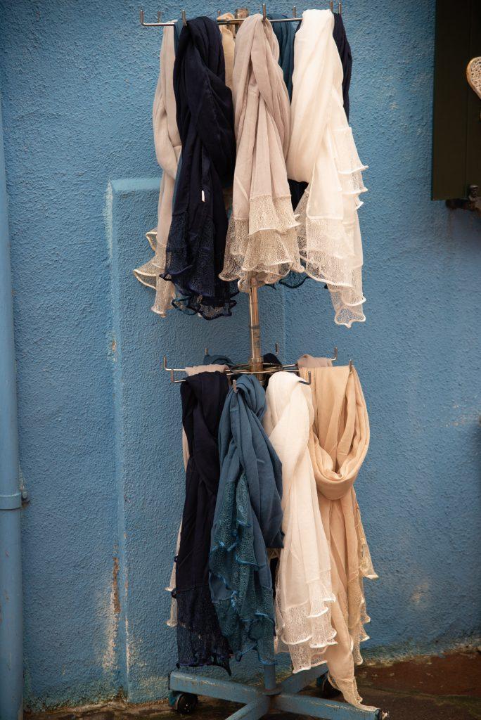 organizar bufanda