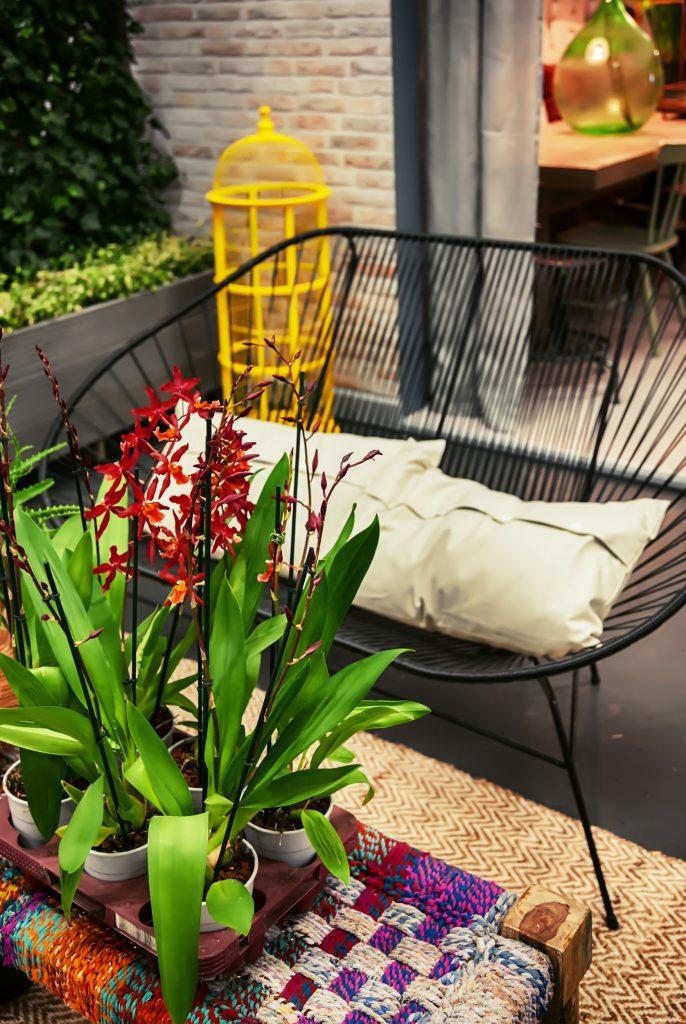 flores patio