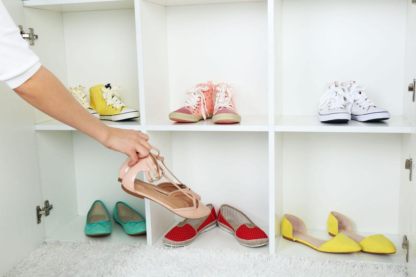 orden closet zapatos