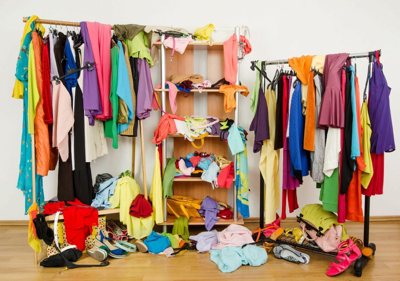 Desorden en closet