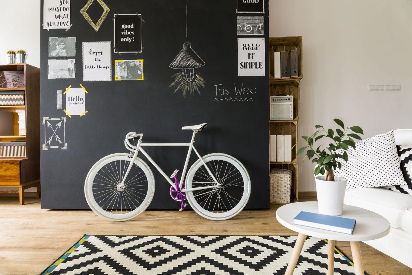 pintura tablero bici