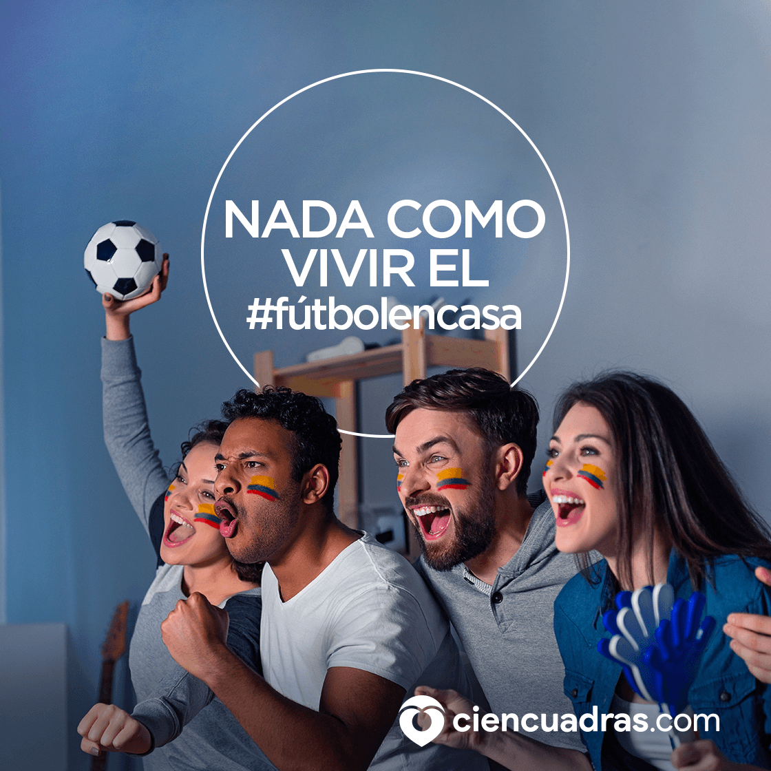 #fútbolencasa