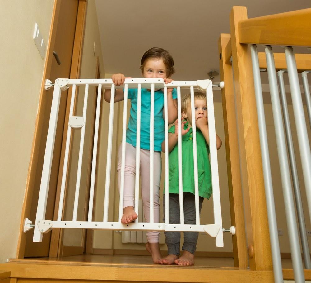 escalera segura niños