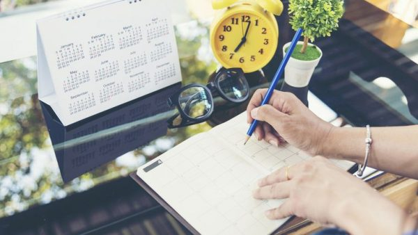 organizar agenda inmobiliario