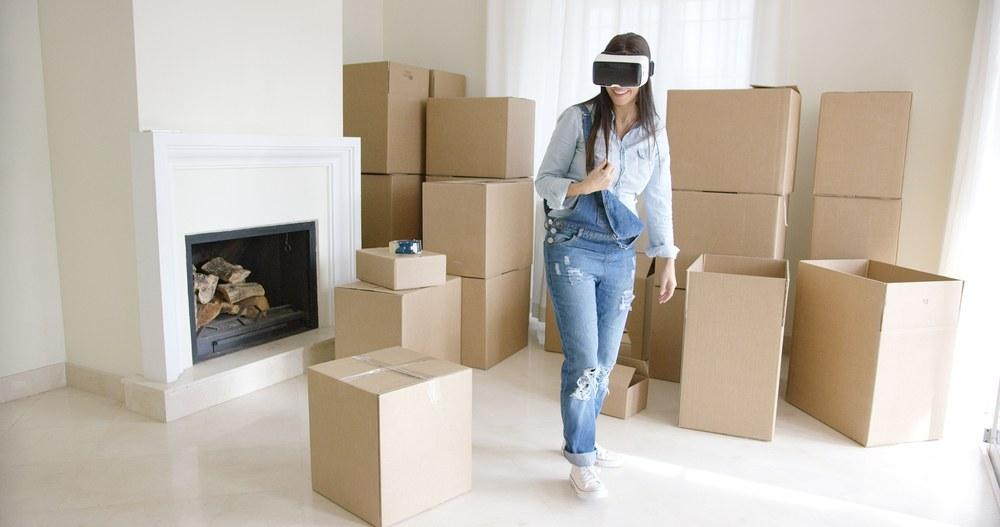 gafas realidad virtual cajas