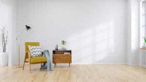 minimalista sala materiales