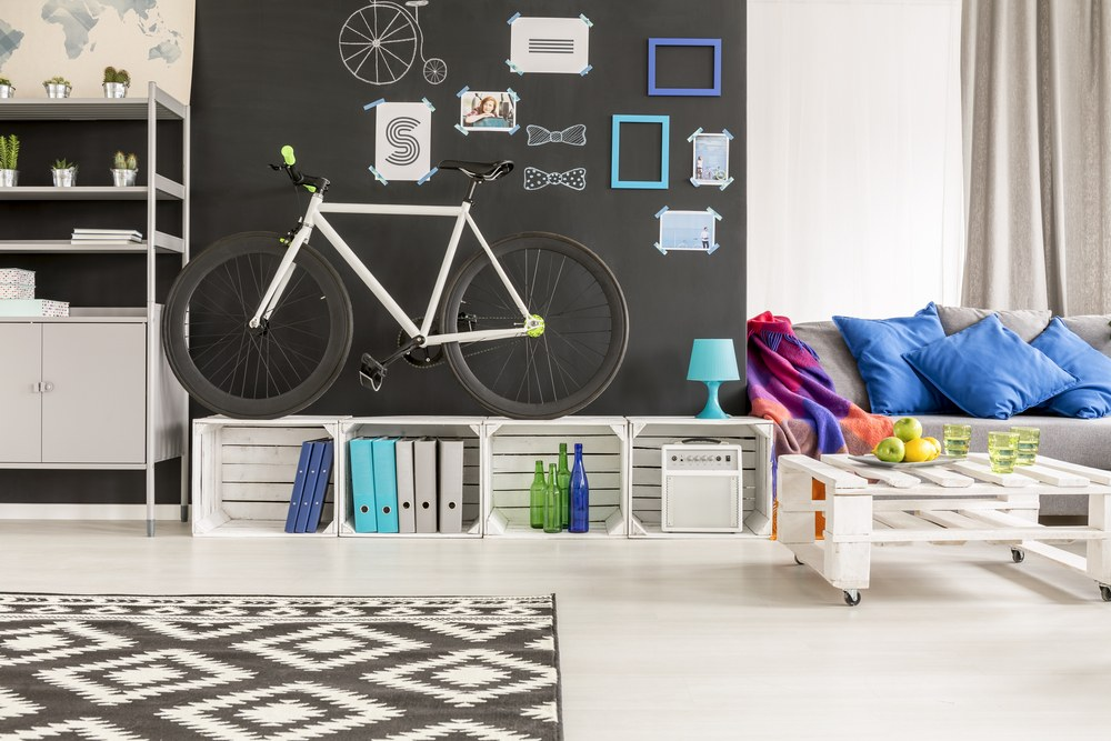 mueble especial para bici