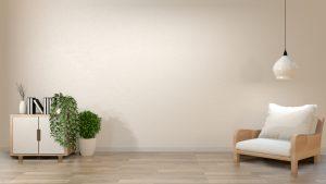 mueble lampara minimalista
