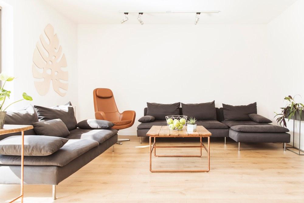 sala hogar japandi