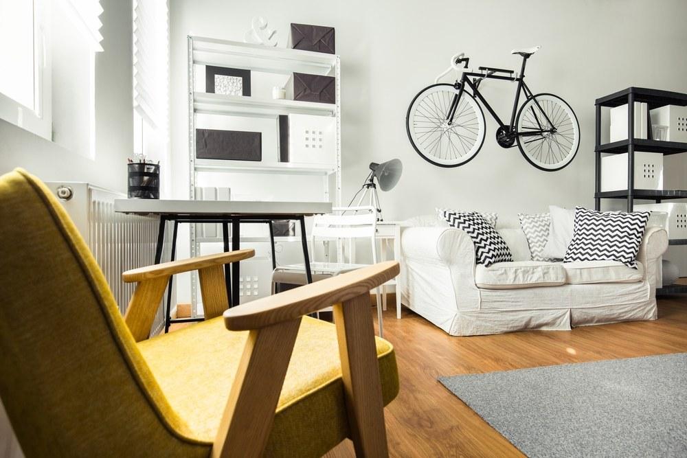 soporte o estantería para bicicleta