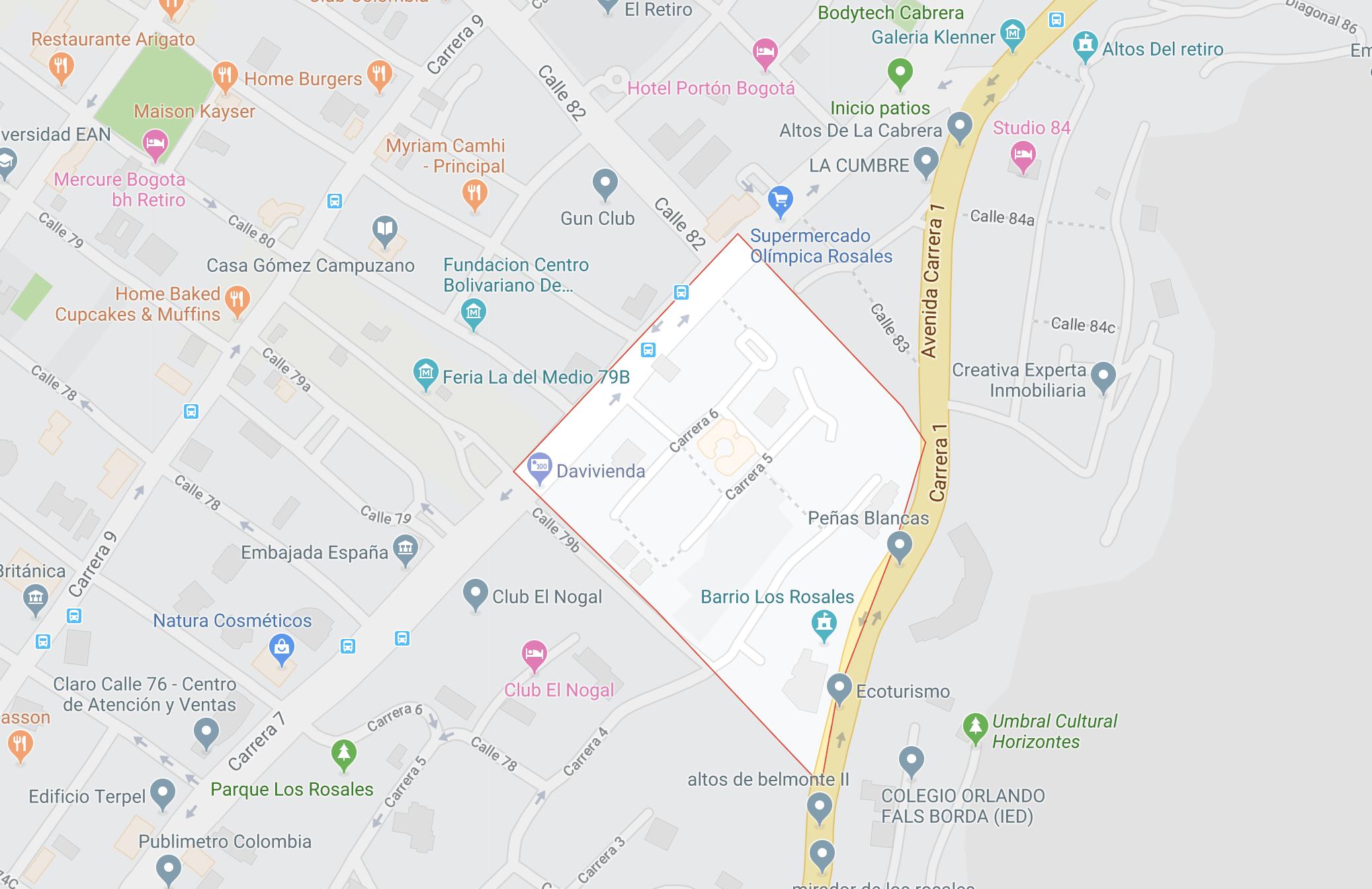 Barrio Los Rosales