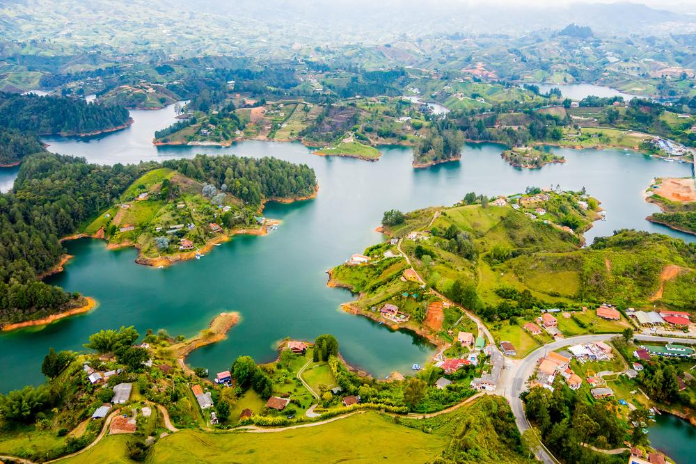 Guatape, Antioquia zona buscada por los paisas
