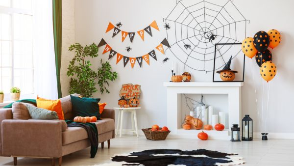 decorar la casa de halloween