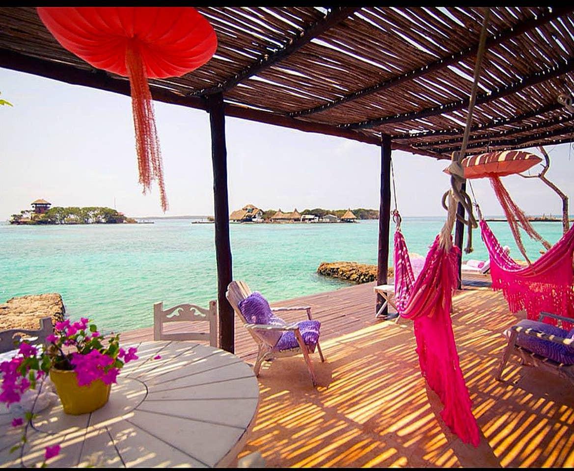 hamacas y decoracion caribe