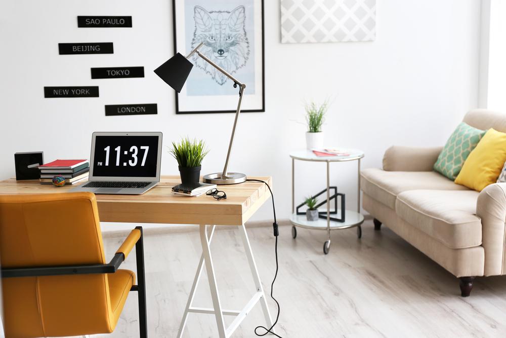 oficina en la sala