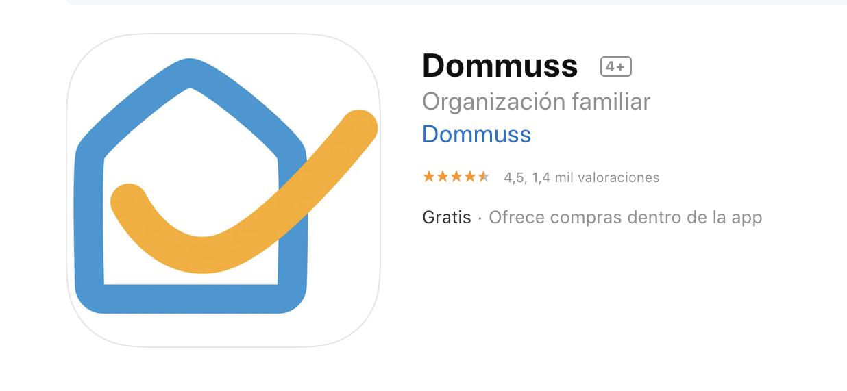Dommus aplicaciones para organizar
