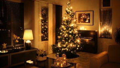 decoración navideña árbol