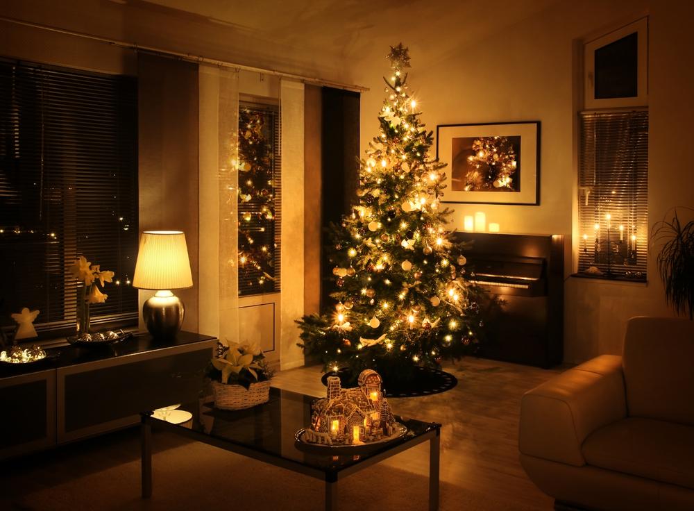 navidad en la sala