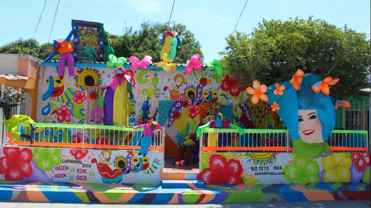 Casa ganadora Carnaval de Barranquilla 2018