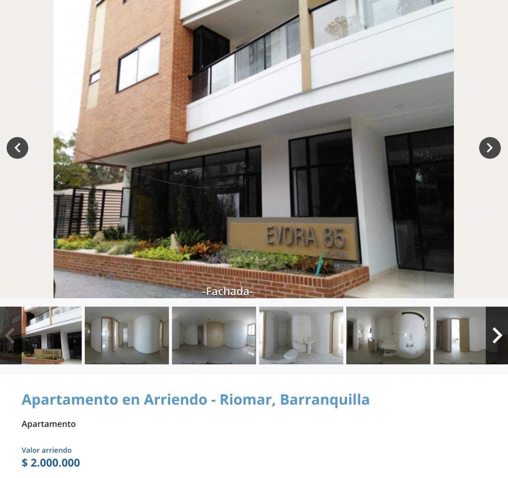 Apartamento en arriendo Norte de Barranquilla