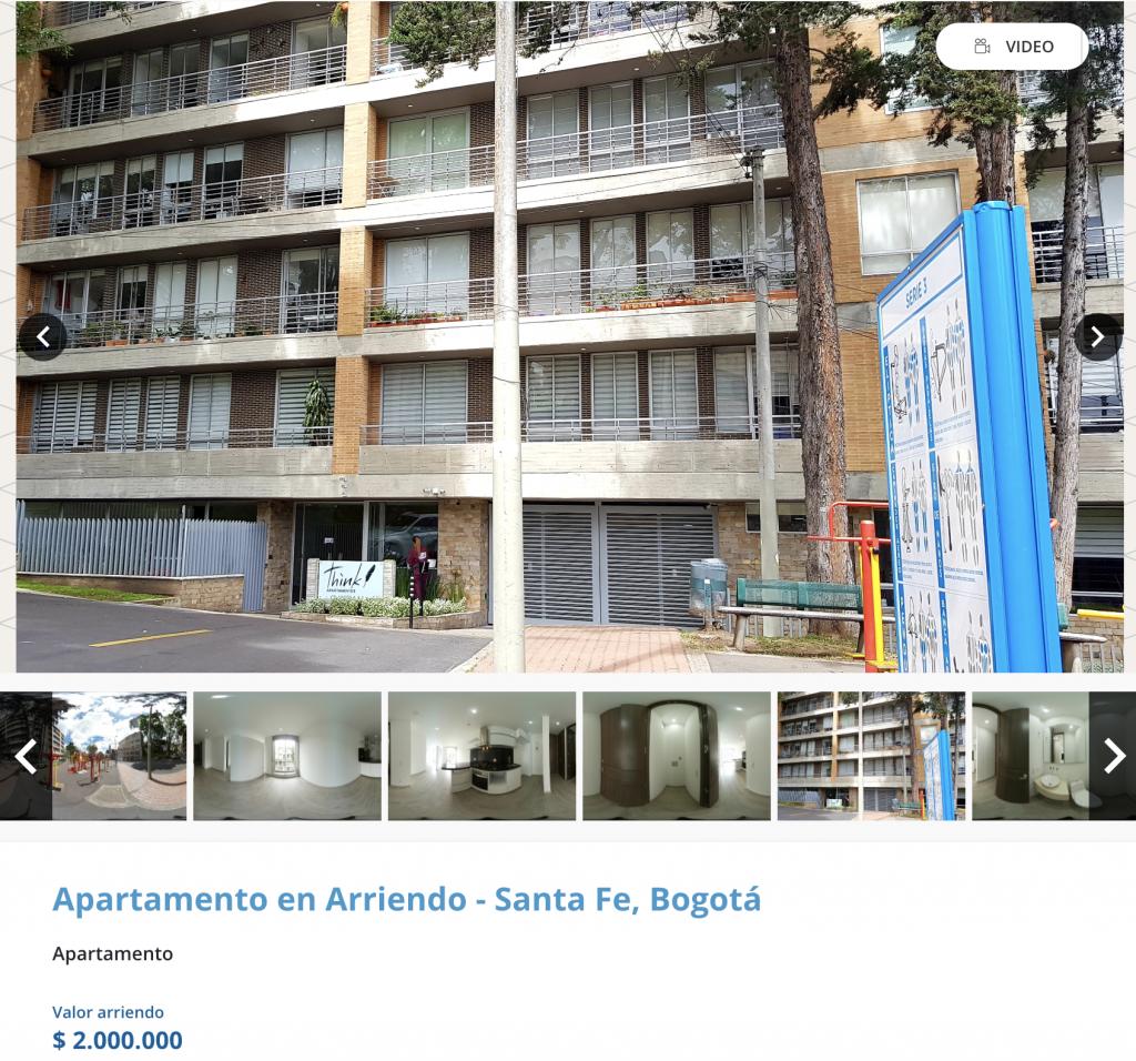 Apartamento en arriendo en Bosque izquierdo, Bogota