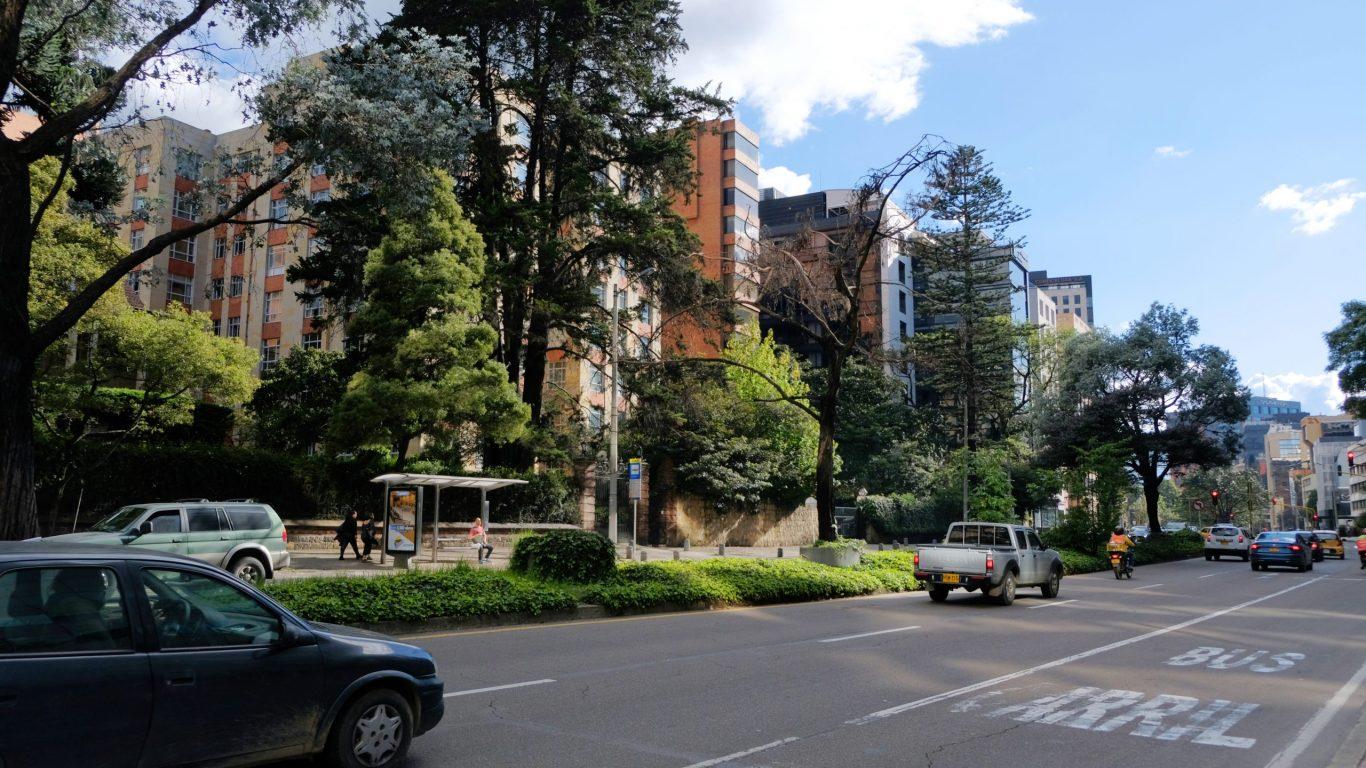 calles y arquitectura de Chapinero