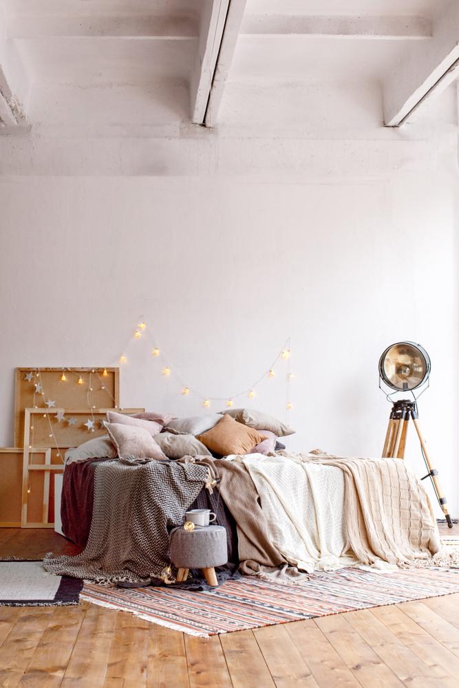 habitación iluminada