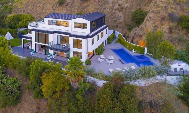 vista de la casa de Demi
