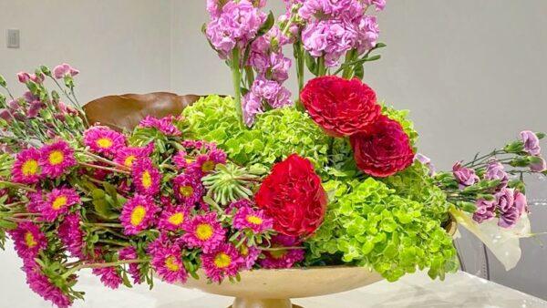 Arreglo floral para la casa