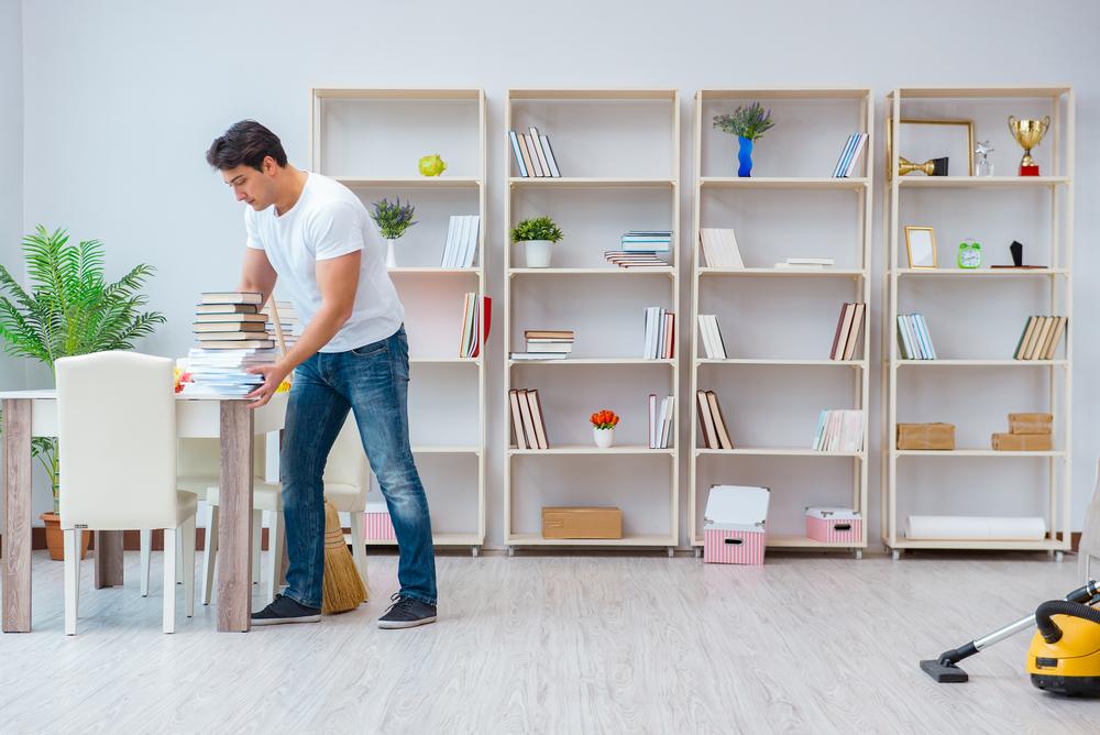 organiza tu blibioteca para renovar tu hogar
