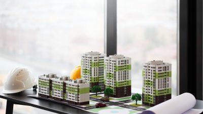 sala de ventas proyecto vivienda
