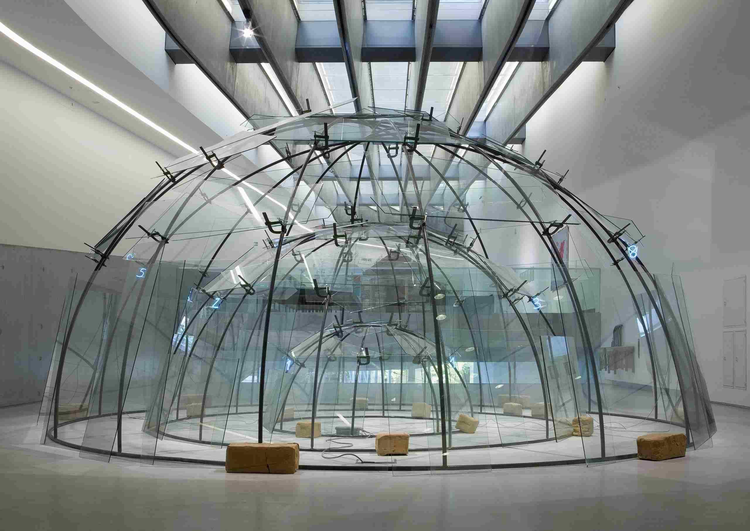Senza titolo (Triplo igloo), 1 984-2002. Mario Merz. Fondazione MAXXi