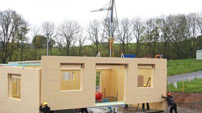 Casas prefabricadas tendencia