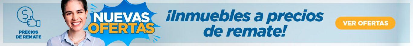 Banner Inmuebles a precio de remate