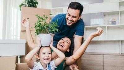 vivienda para familias con niños