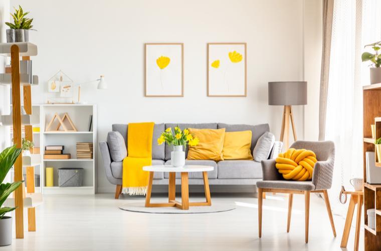 Color Pantone 2021 en decoracion de la casa
