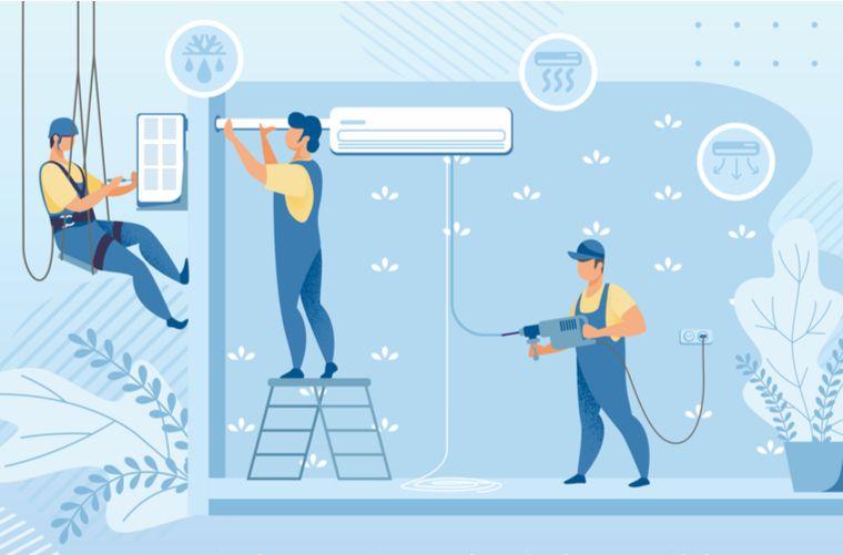 Ilustración arreglos casa- Formas de aumentar el valor de un inmueble