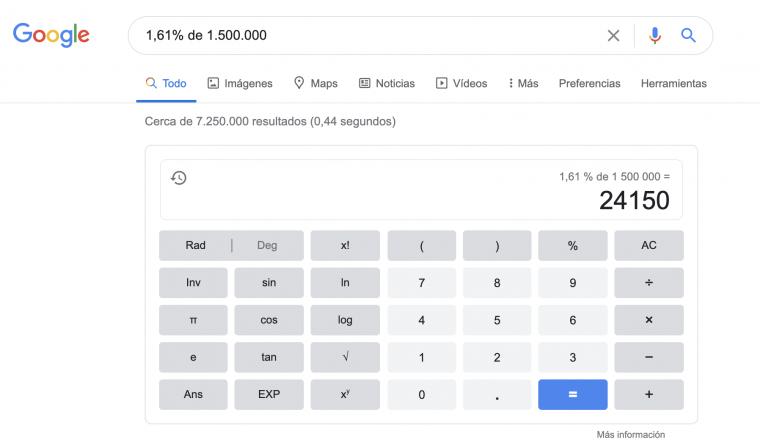Google calcular aumento arriendo de vivienda en 2021