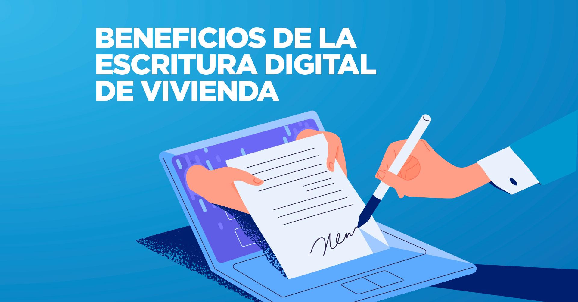 escritura digital de vivienda