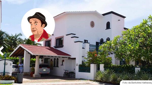 La casa de Chespirito que esta a la venta