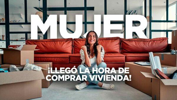 Mujeres: las más interesadas en la compra de vivienda
