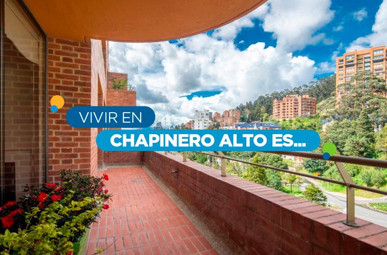 Cono el barrio Chapinero Alto